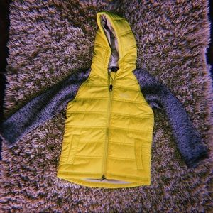 KIDS LIME GREEN EDDIE BAUER JACKET